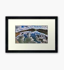 Dam Sydney - Mirror Reflection - Panorama Framed Print