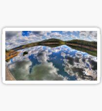 Dam Sydney - Mirror Reflection - Panorama Sticker