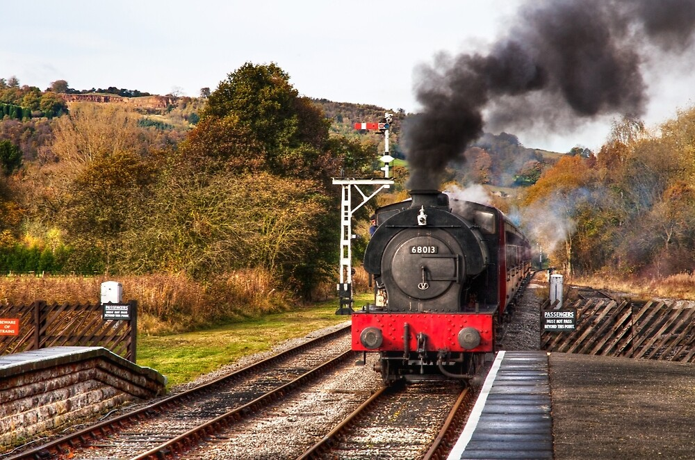 Steam Train by Ellesscee