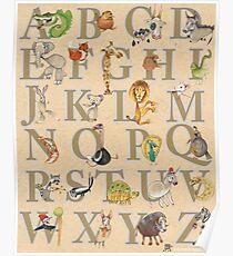 Animal ABCs Poster