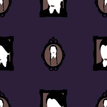 Wednesday Addams - Framed by MogPlus