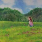 In the Green Summer Meadow by Ria Spencer