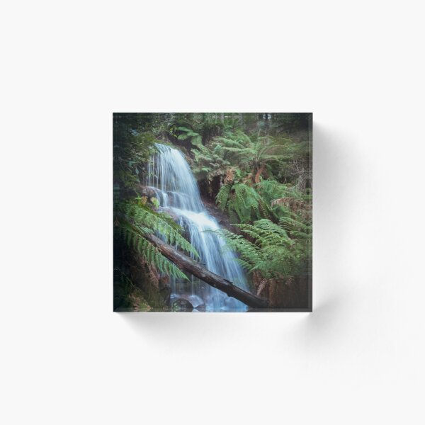 Waterfall at Mount Buangor State Park Acrylic Block