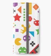 Videogame Game Pattern iPhone Wallet/Case/Skin