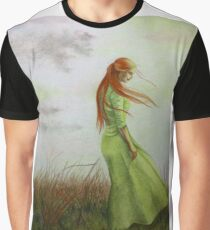 Listening to the Wind Graphic T-Shirt