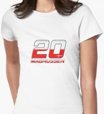 Kevin Magnussen 2017 Womens Fitted T-Shirt