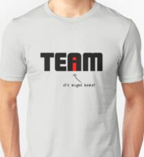 """""""i"""" in Team T-Shirt"""