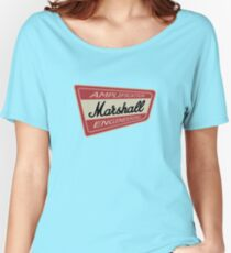 Vintage Marshall Amp  Women's Relaxed Fit T-Shirt