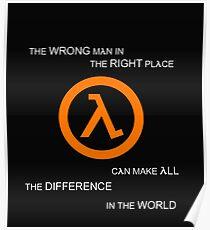 G MAN Poster