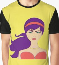 Modern Chic Chick Graphic T-Shirt