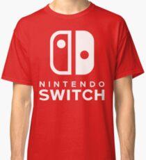 Nintendo Switch Hallo-Res-Logo Classic T-Shirt
