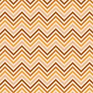 Toffee Caramel Chevrons by destinysagent