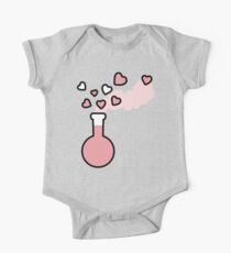 Pink Love Magic Potion in a Laboratory Flask Kids Clothes