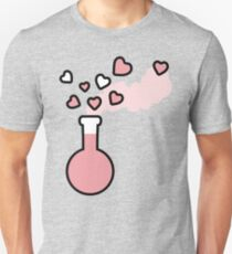Pink Love Magic Potion in a Laboratory Flask T-Shirt