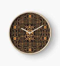 pattern of the past Clock