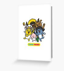 KakaoTalk Friends Greeting Card