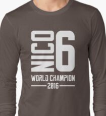 Nico Rosberg world champion 2016 Long Sleeve T-Shirt