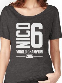 Nico Rosberg world champion 2016 Women's Relaxed Fit T-Shirt