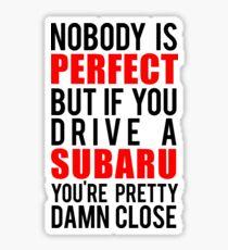 Subaru Owners  Sticker