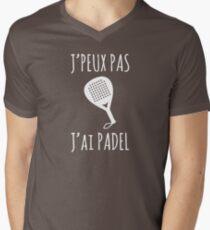 I can not, I Padel Men's V-Neck T-Shirt