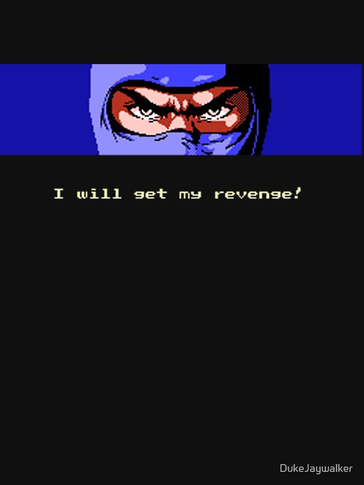 Ninja Revenge on black by DukeJaywalker