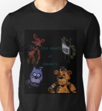 Five Nights at Freddy's fan made picture T-Shirt