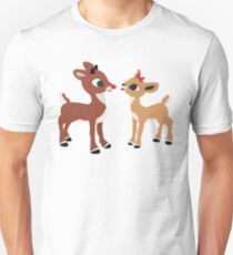 Classic Rudolph and Clarice Unisex T-Shirt