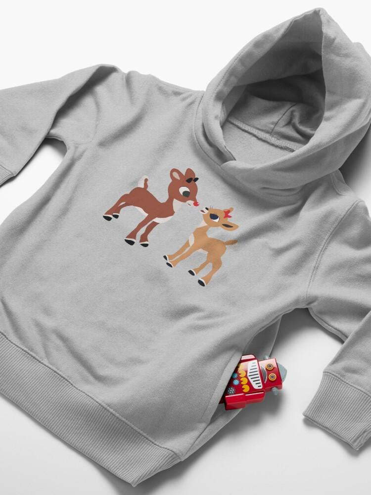 Alternate view of Classic Rudolph and Clarice Toddler Pullover Hoodie