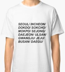 South Korean Cities Classic T-Shirt