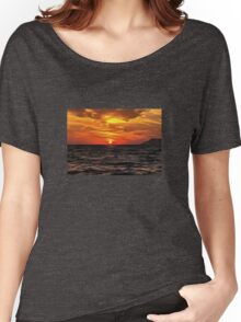 Sunset Over The Mediterranean Sea Women's Relaxed Fit T-Shirt