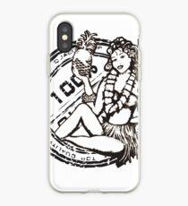 Aloha Girl iPhone Case