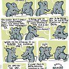 An Elephant Date by rohanchak