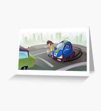 City Cruiser Greeting Card