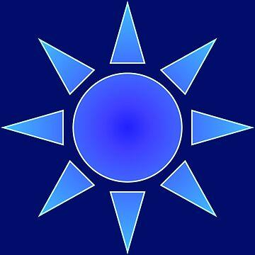 Blue Sun by kerchow