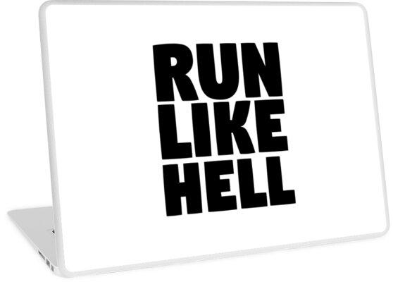 Pink Floyd Run Like Hell Lyrics Cool Rocker Hippie T Shirts Laptop