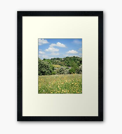 Ancient Hay Meadow Framed Print
