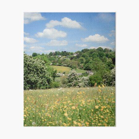 Ancient Hay Meadow Art Board Print