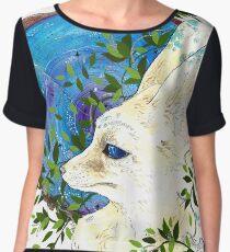 Fennec Fox Chiffon Top