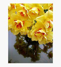 YELLOW REFLECTION  Photographic Print