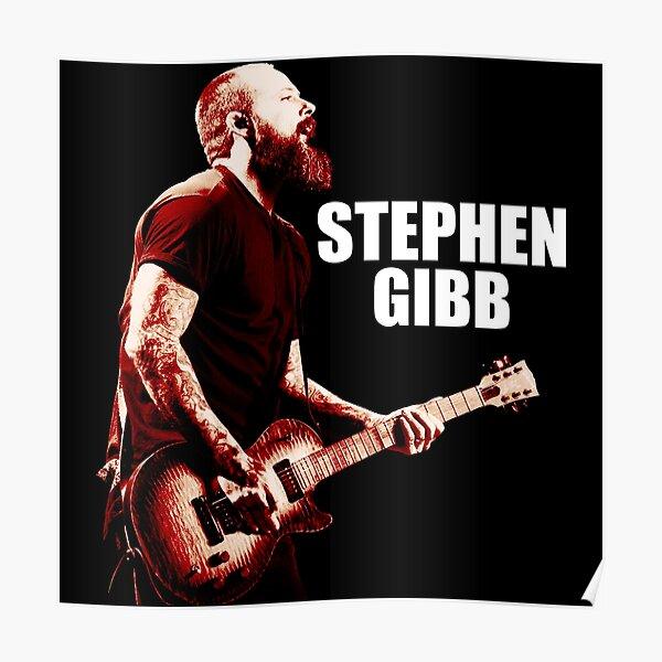 Guitar Cah Sangar   Steve Stephen Gibb   #findyourthing Poster