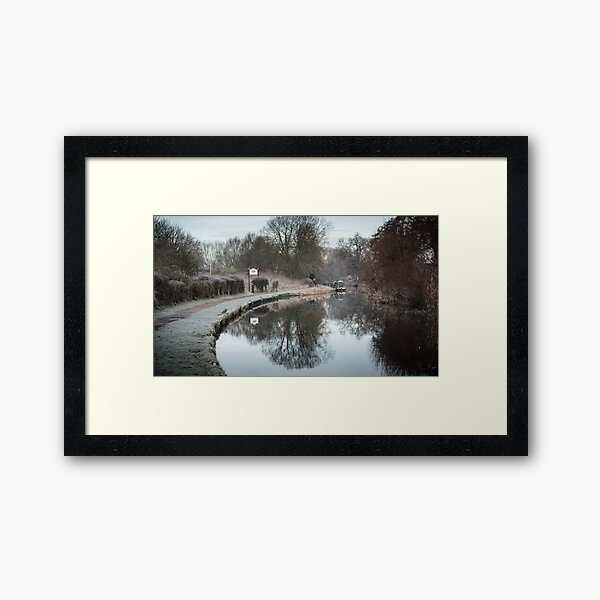 Welcome to Stone Framed Art Print