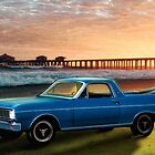 1966 Ford Ranchero at the Pier by ChasSinklier