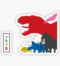 MMPR - Team Shirt Sticker