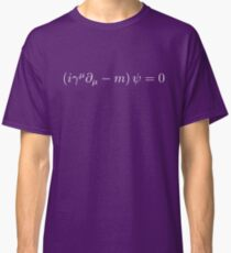 Dirac Equation - White Classic T-Shirt