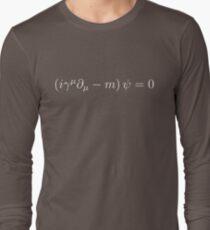 Dirac Equation - White Long Sleeve T-Shirt