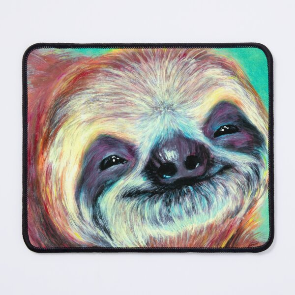 Sloth's smile Mouse Pad