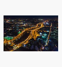 Ho Chi Minh By Night Photographic Print