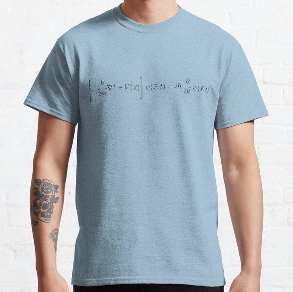 Schrödinger Gleichung - Schwarz Classic T-Shirt