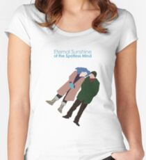 Eternal Sunshine of the Spotless Mind Women's Fitted Scoop T-Shirt