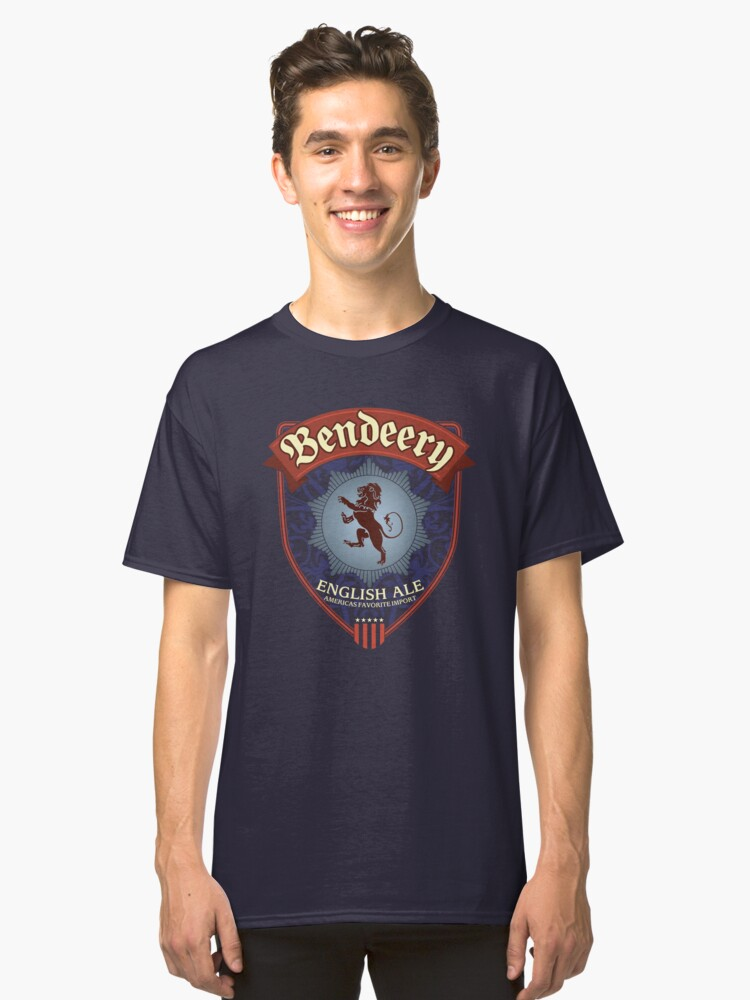 Bendeery English Ale Classic T-Shirt Front